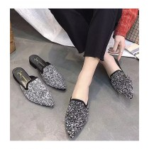 時尚鑽低跟穆勒鞋  JH330005  (出清)